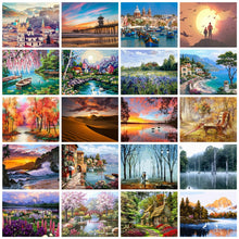 Load image into Gallery viewer, Number Painting Kits DIY Home Decoration City Scenery 🎨