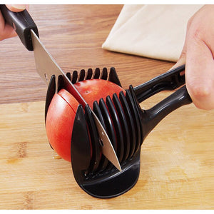 Plastic Potato Slicer Tomato Cutter Kitchen Accessories 🔪