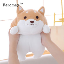 Load image into Gallery viewer, Feromey 35/55cm Fat Shiba Inu Dog Plush Doll