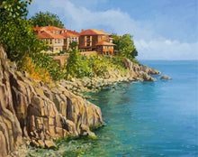 Load image into Gallery viewer, Number Painting Kits DIY Home Decoration Sea Scenery 🎨