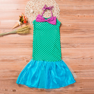 Emmababy 2019 Baby Girls Sequins Tutu Mermaid Baby Dress
