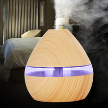 Load image into Gallery viewer, Air Essential Oil Diffuser LED Ultrasonic Humidifier Night Lamp
