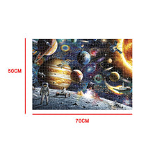 Load image into Gallery viewer, Mini Jigsaw Picture Puzzles 1000 Pieces Universe Puzzle