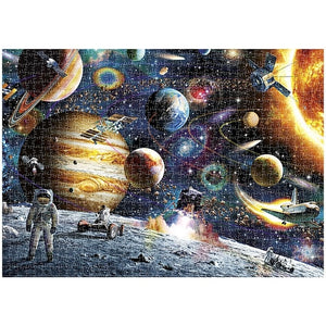 Mini Jigsaw Picture Puzzles 1000 Pieces Universe Puzzle