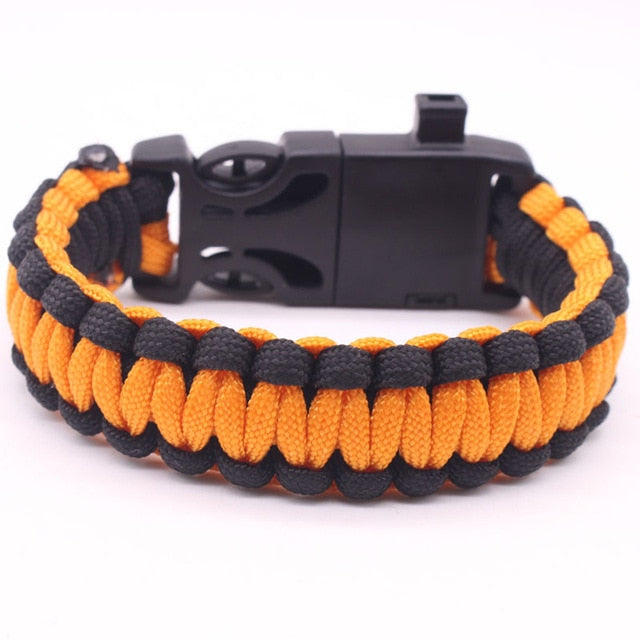 Military Emergency Paracord EDC Bracelet Multifunction Field