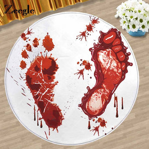 Bloodbath Color Changing Bath Mat