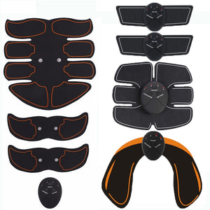 Electric Muscle Stimulator Wireless Buttocks Hip Trainer / Abdominal ABS Stimulator / Fitness Body Slimming Massager