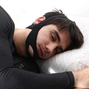 Anti Snore Stop Snoring Chin Strap Belt Sleeping Care Tools