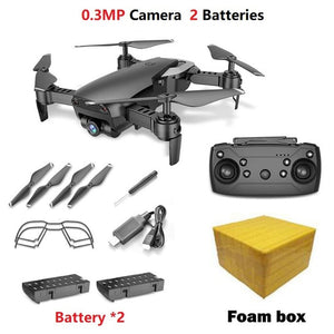 Teeggi M69 FPV Drone 4K with 1080P Wide-angle WiFi Camera