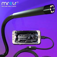 Load image into Gallery viewer, 7mm 5.5mm Endoscope Camera Flexible IP67 Waterproof Micro USB for Android Phone PC 6LED