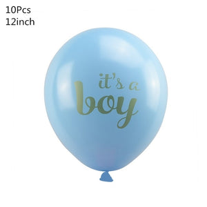 1 Set Baby Shower Baby Boy Girl Foil Balloon its a boy girl