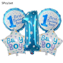 Load image into Gallery viewer, 1 Set Baby Shower Baby Boy Girl Foil Balloon its a boy girl