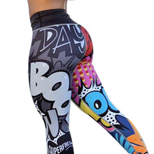 Load image into Gallery viewer, CHRLEISURE Women Digital Printing Leggings Workout Leggings