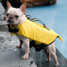 Load image into Gallery viewer, Dog Puppy Swimming Reflective Life Vest Cartoon Life Jacket