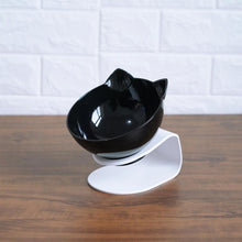 Load image into Gallery viewer, Non-slip Double Cat Bowl Dog Bowl With Raised Stand Pet Feeder