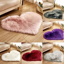 Load image into Gallery viewer, Wool Warm Hairy Carpet Seat Covers Washable Carpet