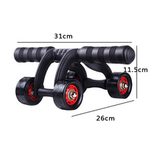 Load image into Gallery viewer, 4 Rolls Ab Roller Abdominal Muscle Trainer