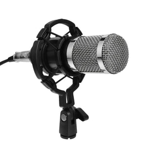 BM800 Dynamic Condenser Microphone Audio Recording Mic with Shock Mount