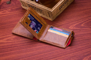 Leather Men Wallet Fashion Dollar Price Wallet