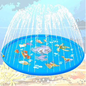 67-inch Inflatable Spray Swimming pool Lawn Game Sprinkler Play Toys Outdoor