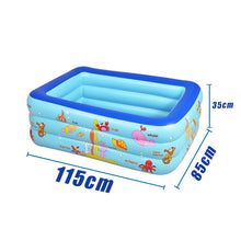 Load image into Gallery viewer, Inflatable Pool Baby Swimming Pool Outdoor Children Basin Bathtub Kids Pool