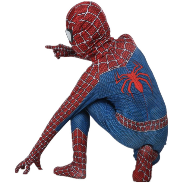 Spiderman Costume 3D Printed Costume