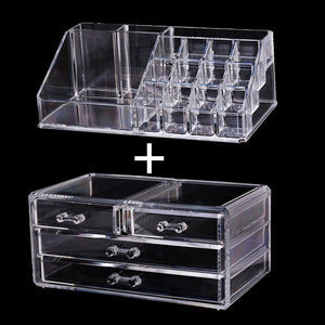Makeup Cosmetic Organizer Storage Drawers