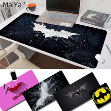 Load image into Gallery viewer, Maiya Hot Sales Batman logo Rubber PC mousepad Keyboards Mat