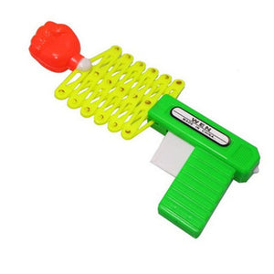 Retractable Fist Shooter Trick Toy Gun