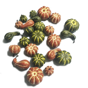 Small Pumpkin Thanksgiving Decoration 24 Pieces