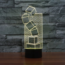 Load image into Gallery viewer, 3D LED Table Illusion Lamp Christmas Prank Gift