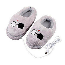 Load image into Gallery viewer, USB Powered Electric Heat Cushion Shoes