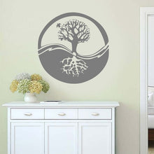 Load image into Gallery viewer, Ecosphere Tree Symbol Wall Sticker 🔮🌲 Gray
