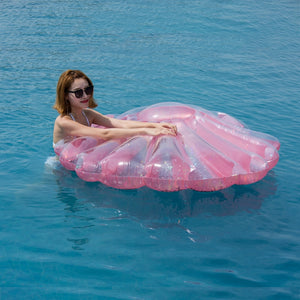 Giant Inflatable Shell Pool Floats🐚🏖️