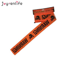 Load image into Gallery viewer, JOY-ENLIFE Halloween Warning Caution Tape