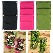 Load image into Gallery viewer, Vertical Gardening Hanging Wall Garden 4 Pockets Planting Bags