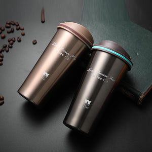 Love Dream Free 500ml Stainless Steel Vacuum Flask Thermos Coffee Cup