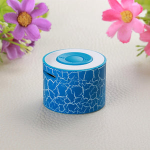 6 Color Mini MP3 Speaker RechargeableTF Card Crack Music Player