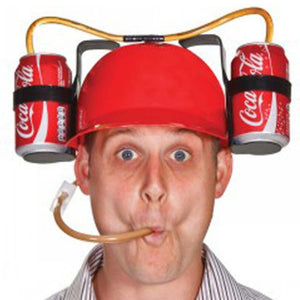 Funny Beer Soda Can Holder Cap