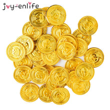 Load image into Gallery viewer, Pirate Treasure Gold Coins 50pcs