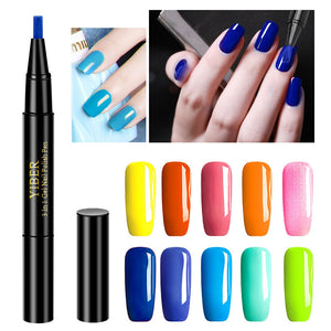 ELECOOL 3 In 1 UV Gel Paint Glitter Nail Polish Nail Gel