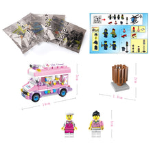 Load image into Gallery viewer, Ice Cream and Pizza Truck Building Blocks Sets Lego Compatible