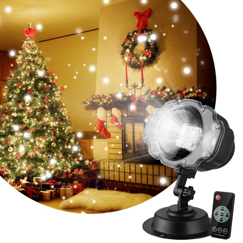 Led Outdoor Christmas Lights Displays Projector Wireless Remote