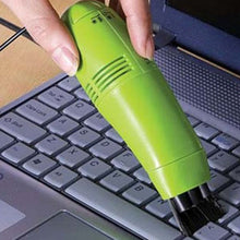 Load image into Gallery viewer, Small Portable Durable USB Vacuum Cleaner Brush