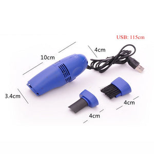 Small Portable Durable USB Vacuum Cleaner Brush