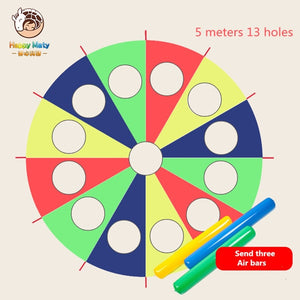 Happymaty Kindergarten Whac-A-Mole Rainbow Umbrella