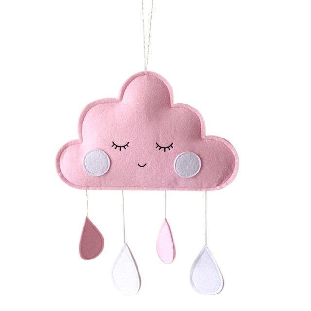 Hygge Decoration - Cute Smiling Clouds