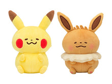 Load image into Gallery viewer, Kanahei x Pikachu - Pokémon Yurutto Furry Doll Bag Charm