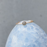 Genuine Moon Dust Hand Blown Ring