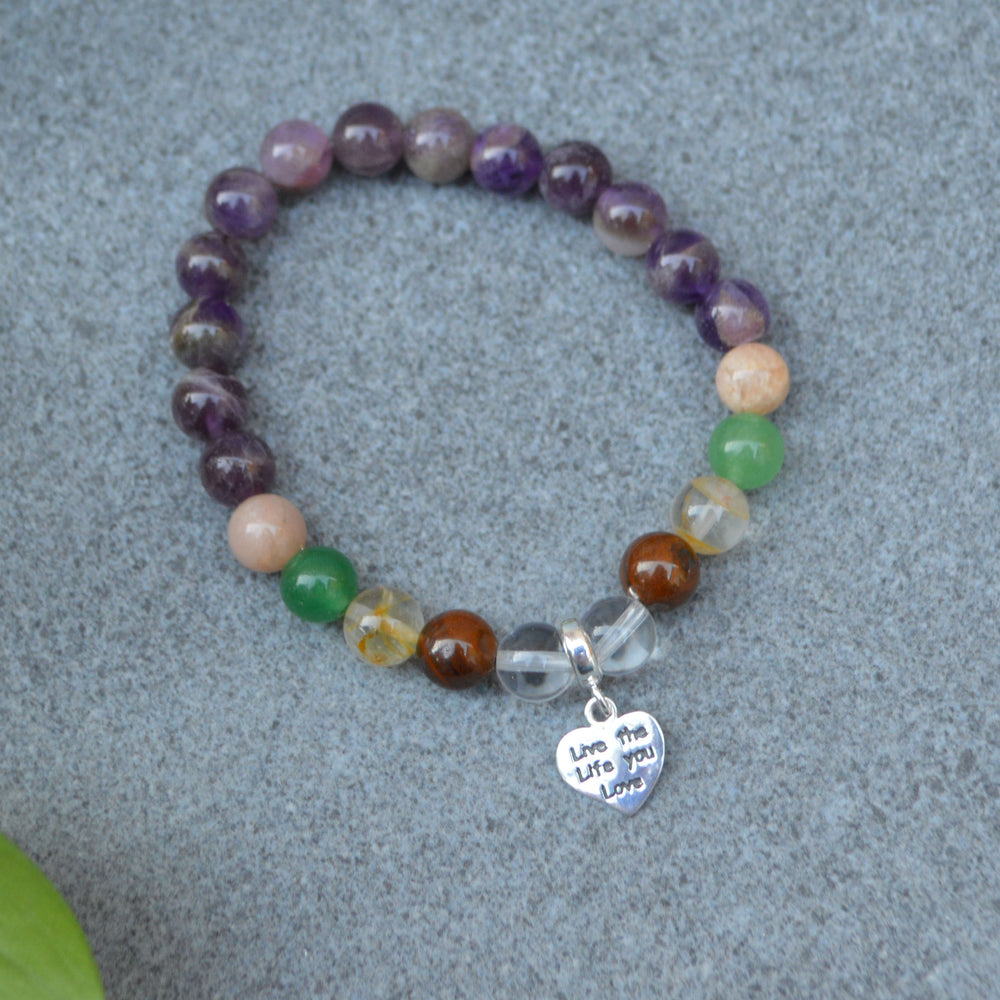 Business Success Crystal Healing Bracelet